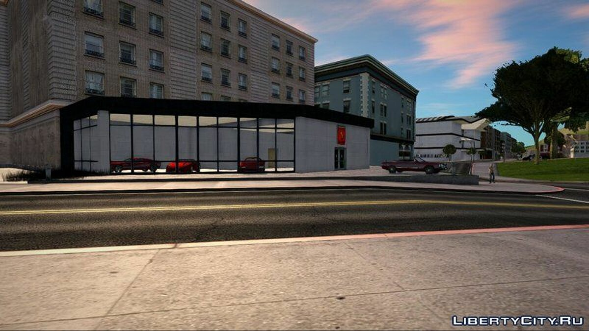 New object New Grotti showroom in SF for GTA San Andreas