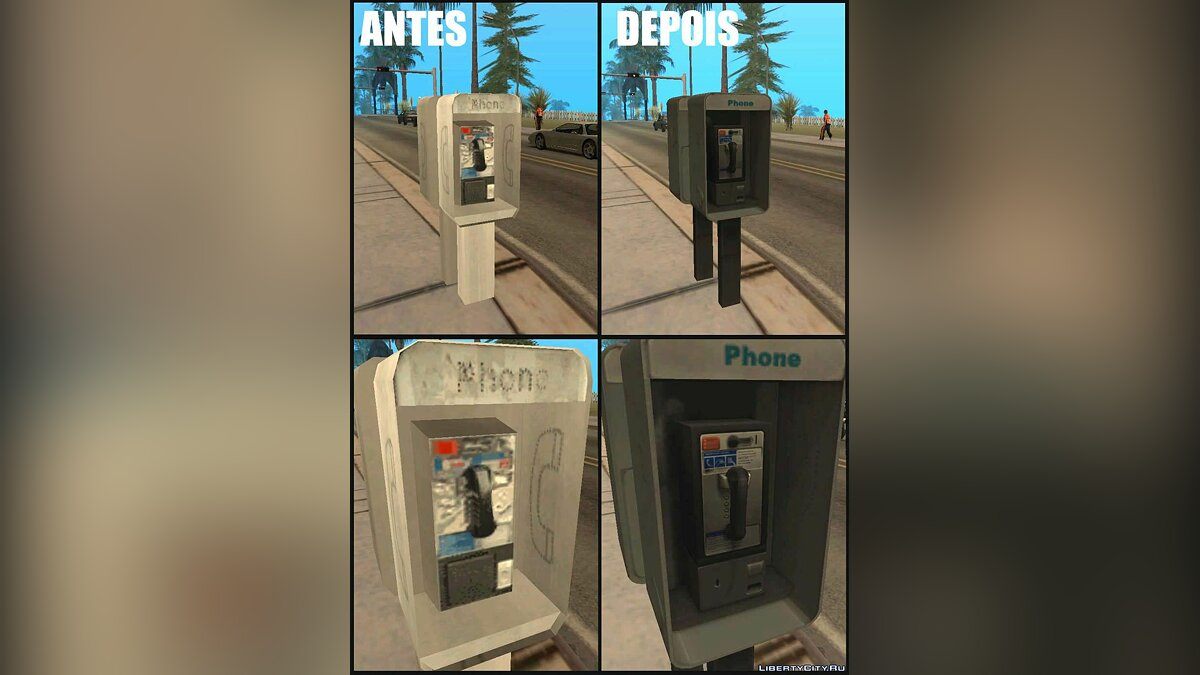 New object Improved Phone Booth for GTA San Andreas