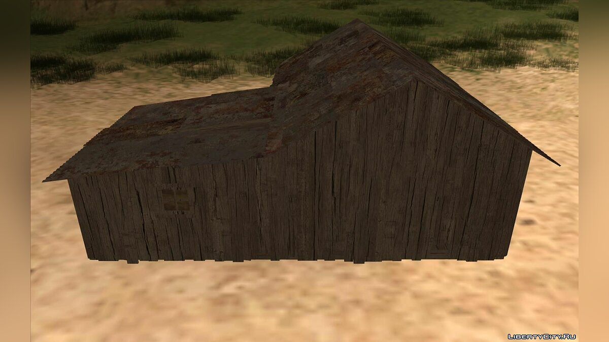 New object New Cabin in Fisherman's Lagoon for GTA San Andreas
