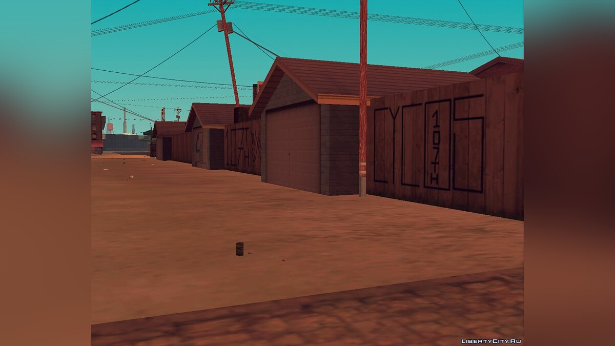 New object Aztec mapping for GTA San Andreas