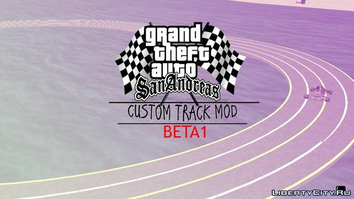 New object Custom Track Races - Race Track for GTA San Andreas