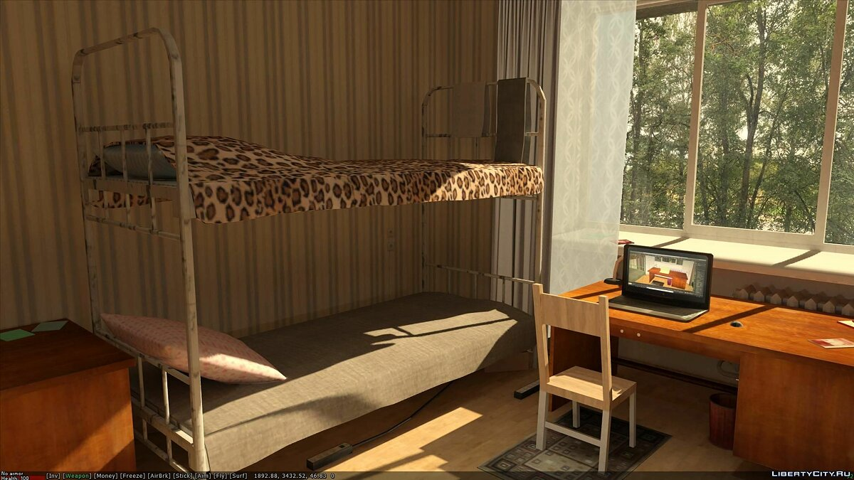 Dorm interior for GTA San Andreas - Картинка #4