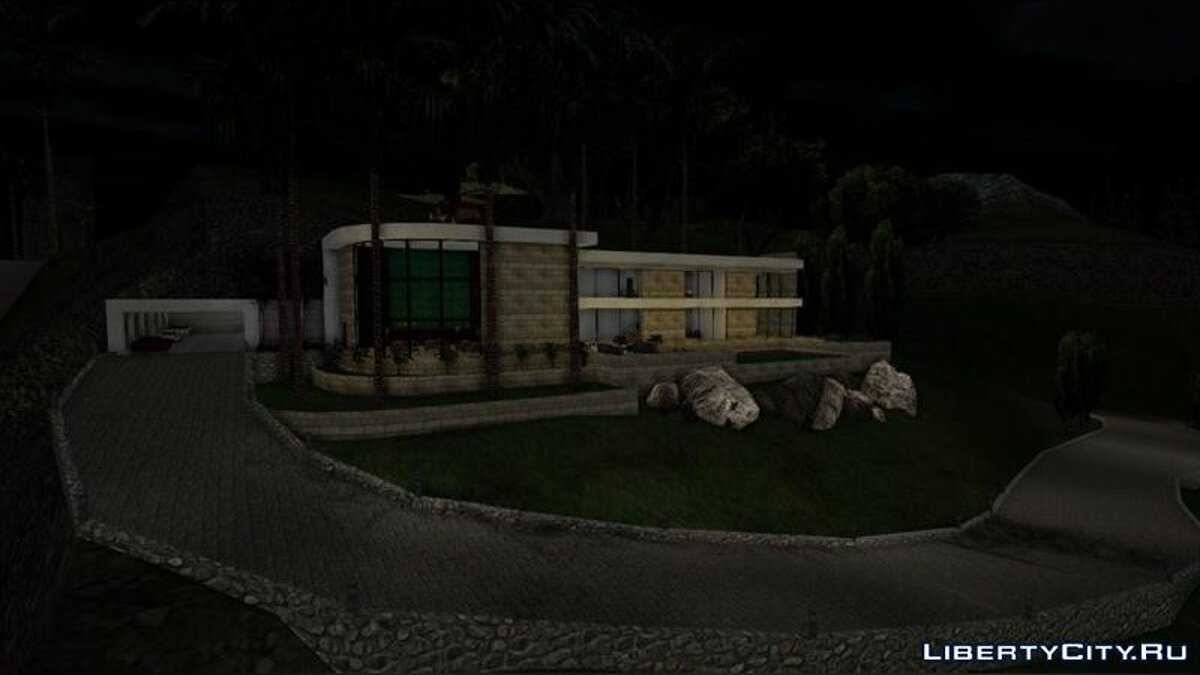 New object Huge mansion for GTA San Andreas