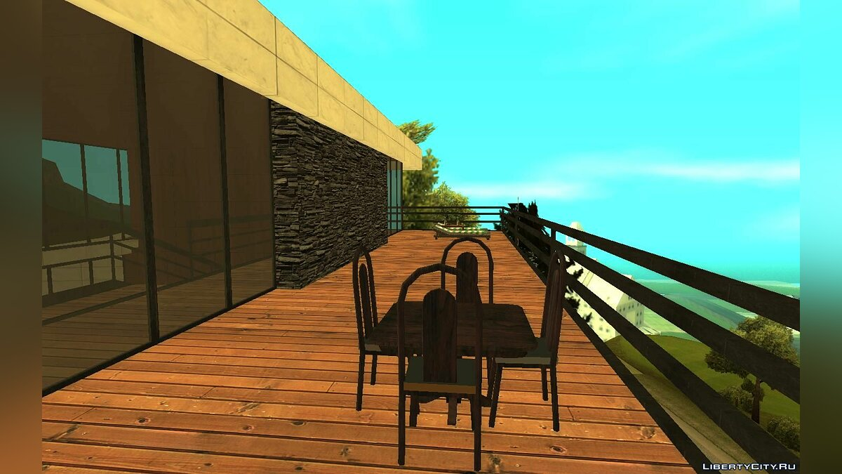 New object Golf house for GTA San Andreas