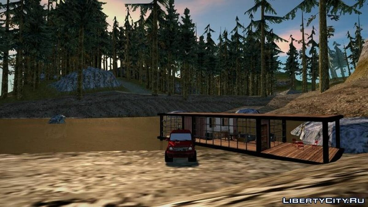 New object Swamp hut for GTA San Andreas