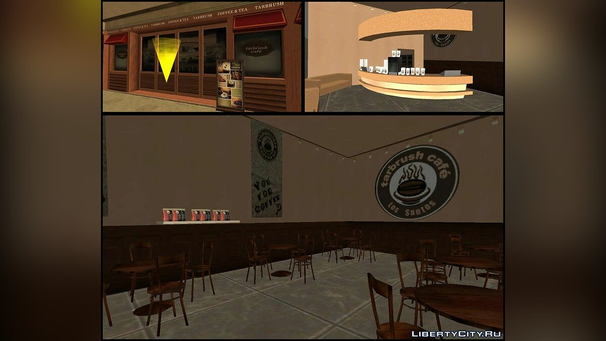 New object Downtown LS Mall for GTA San Andreas