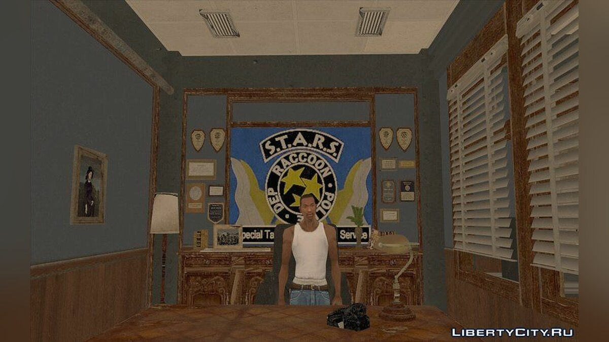 New object Office S.T.A.R.S. from Resident Evil for GTA San Andreas