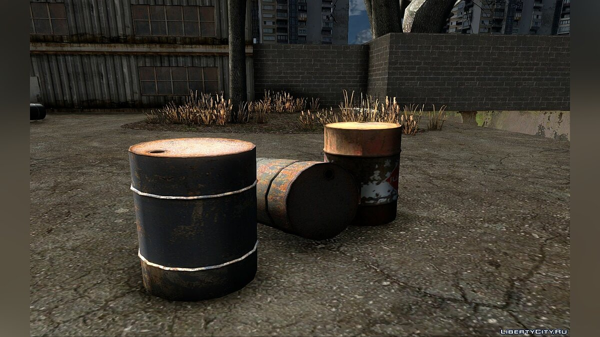 New object New Barrels from Half-life 2 for GTA San Andreas