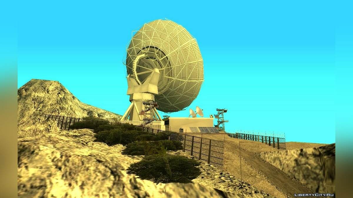 New object Mount Chiliad UFO Research Base for GTA San Andreas
