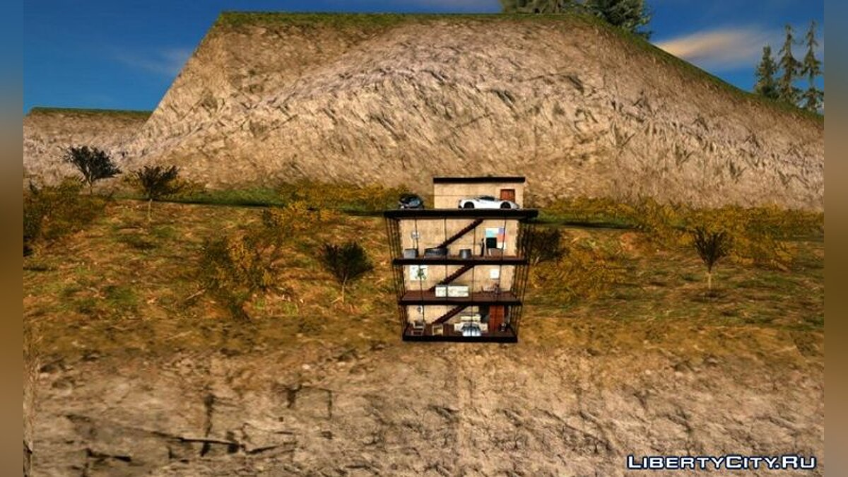 New object Small hideout for GTA San Andreas