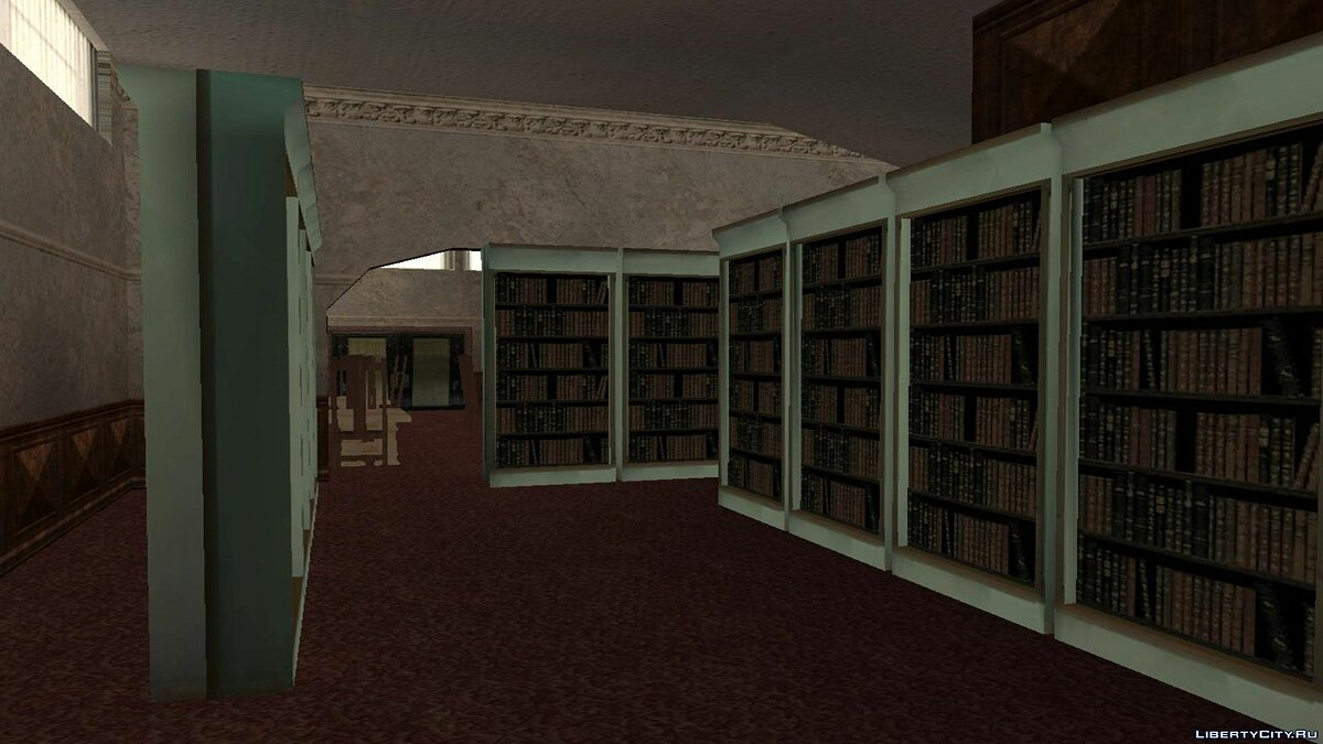 New object Library for GTA San Andreas