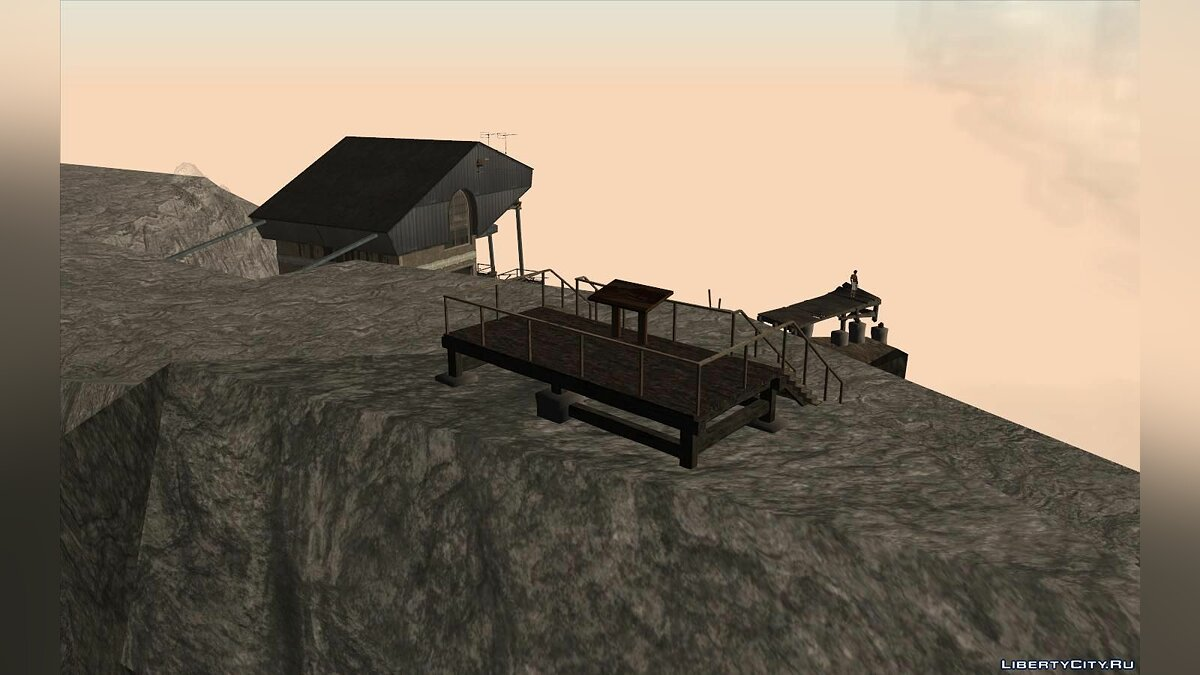 New object Objects from GTA V on Mount Chiliad for GTA San Andreas