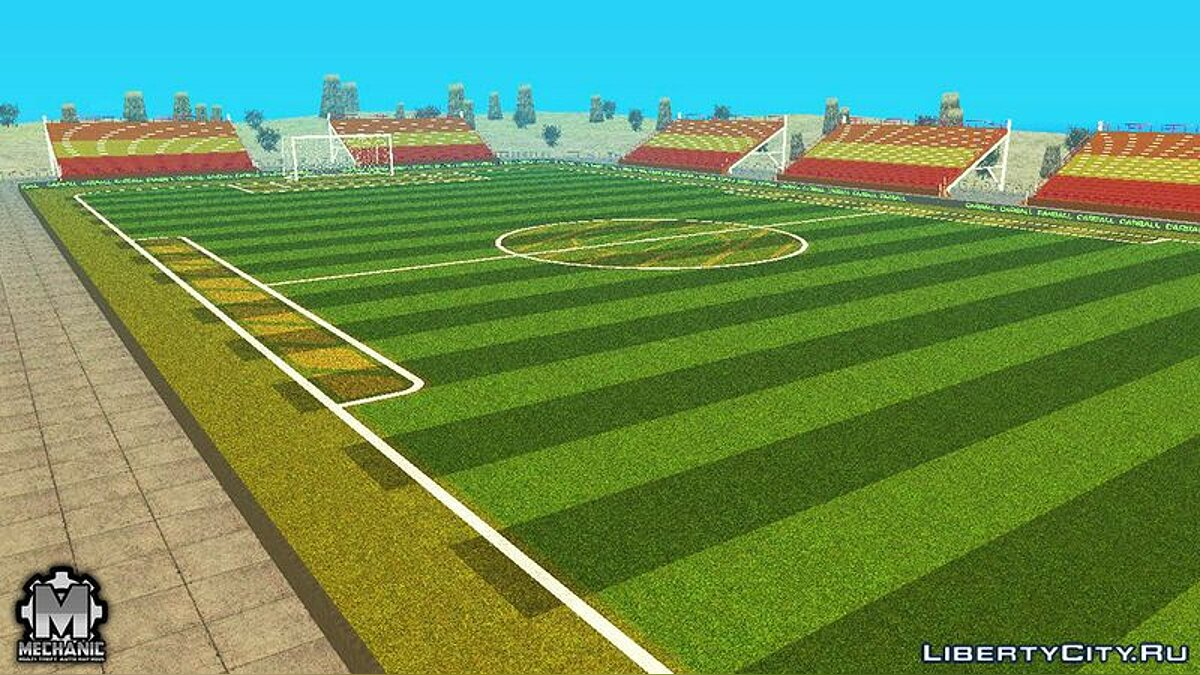 New object Football Arena