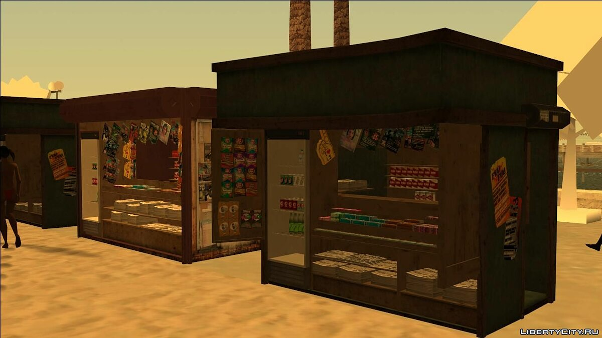 New object Beach Vends IV for GTA San Andreas