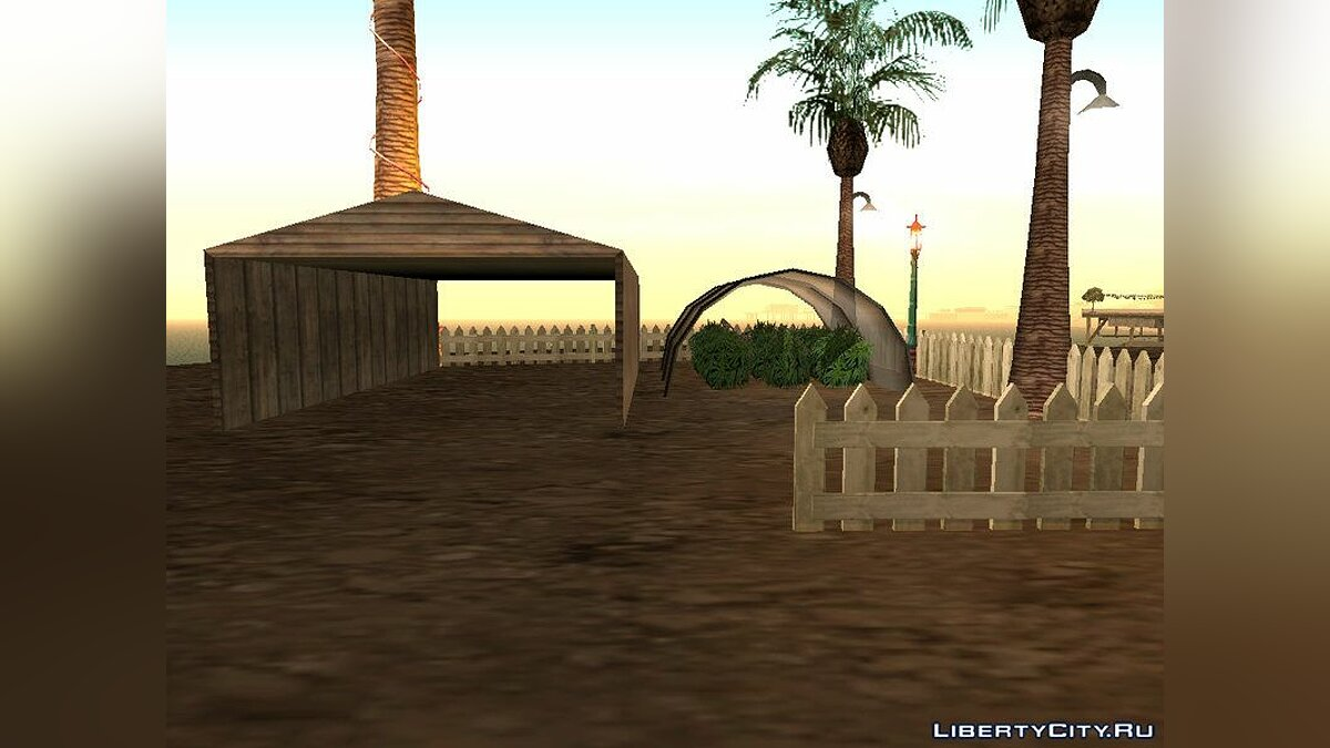 New object New House on Green Cliff for GTA San Andreas