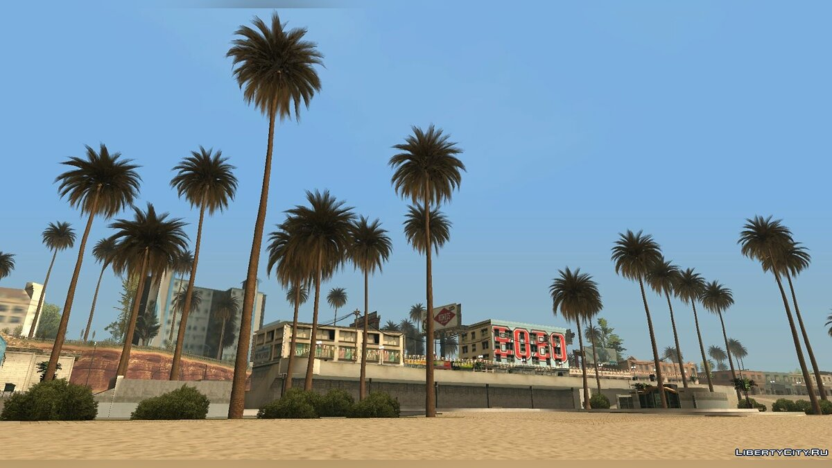 New object GTA V Palms (Normal Maps) for GTA San Andreas
