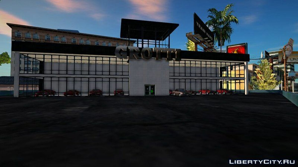 New object New Grotti showroom in LS for GTA San Andreas