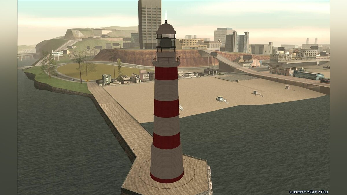 New object Lighthouse from the game Baumaschinen-Simulator 2012 for GTA San Andreas