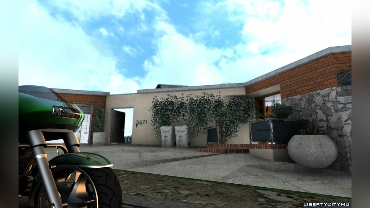 New object Franklin House from GTA 5 for GTA San Andreas