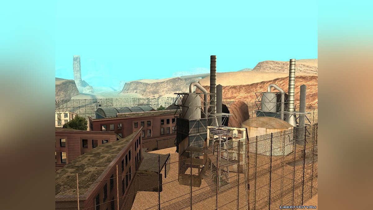 New object Abandoned zone for GTA San Andreas