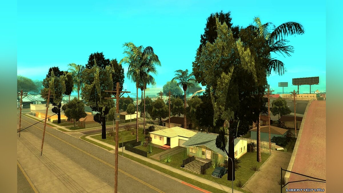 New object Green Piece v1.37 (more trees) for GTA San Andreas