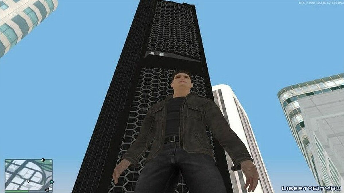 New object Oskorp Tower from Spiderman's Universe for GTA San Andreas