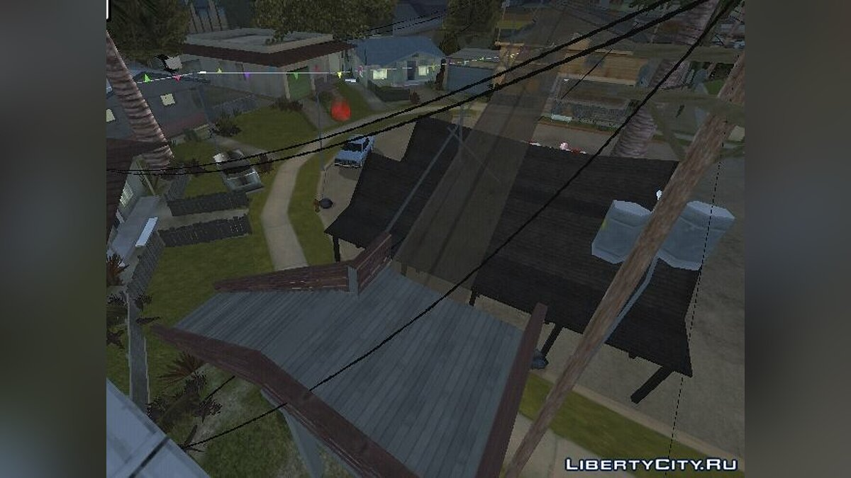 New object Updated Grove Street for GTA San Andreas
