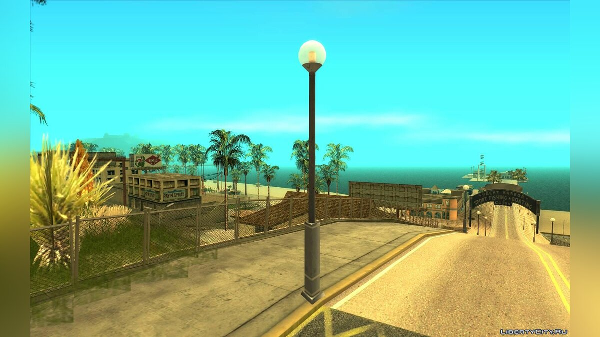 New object Improved Pillars (HD Remaster) for GTA San Andreas