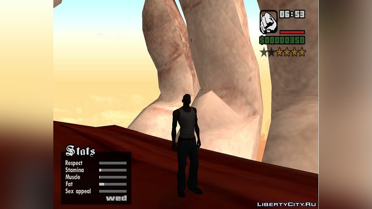 New object Kratos giant statue for GTA San Andreas
