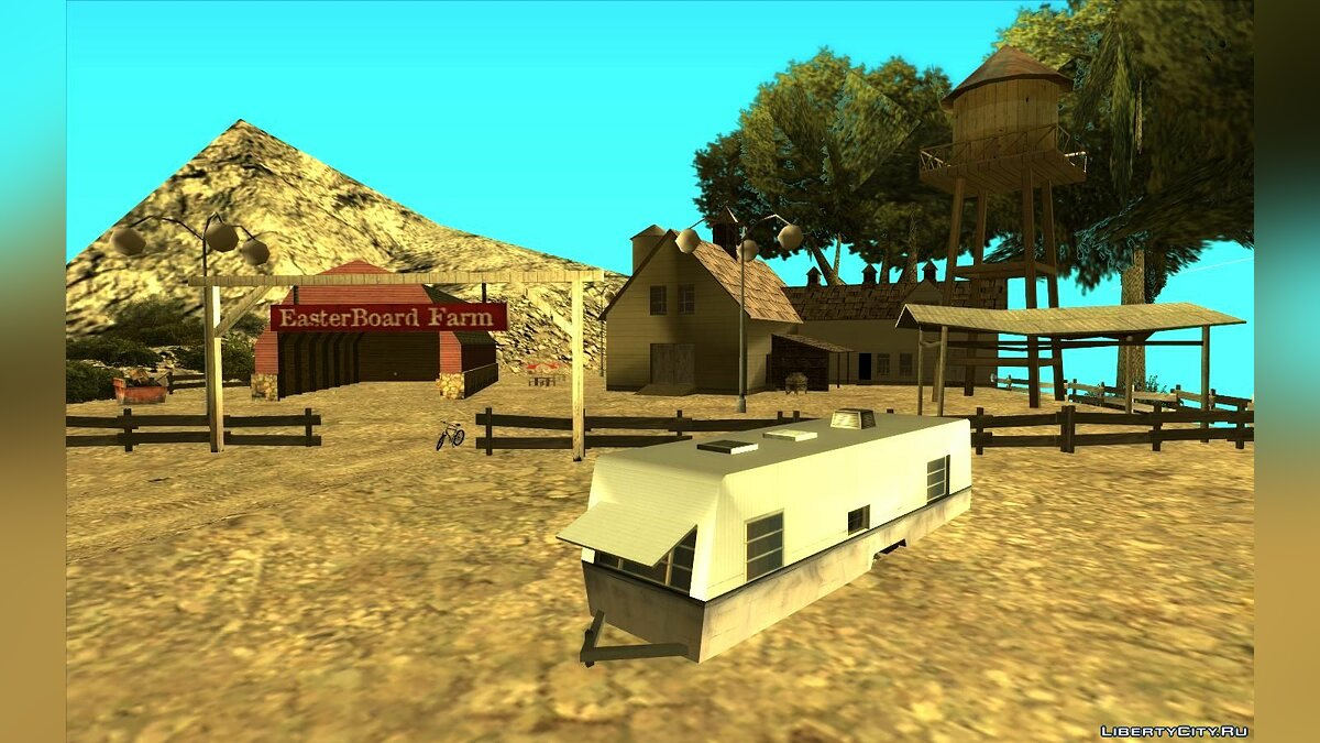 New object New Farm on Mount Chiliad for GTA San Andreas