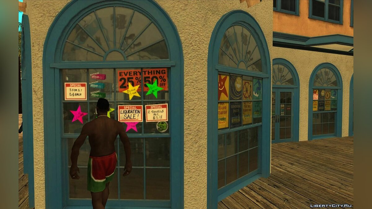 New object Santa Monica V1 for GTA San Andreas