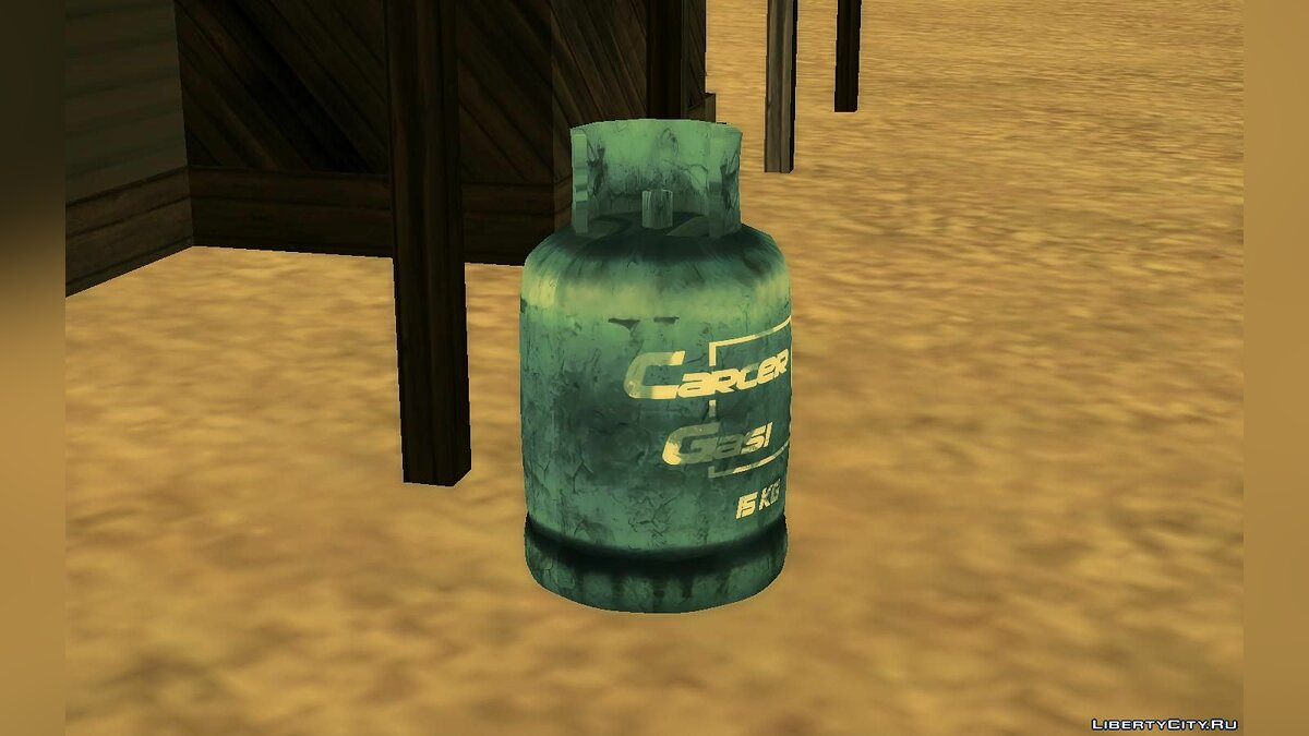 New object Gas bottle for GTA San Andreas