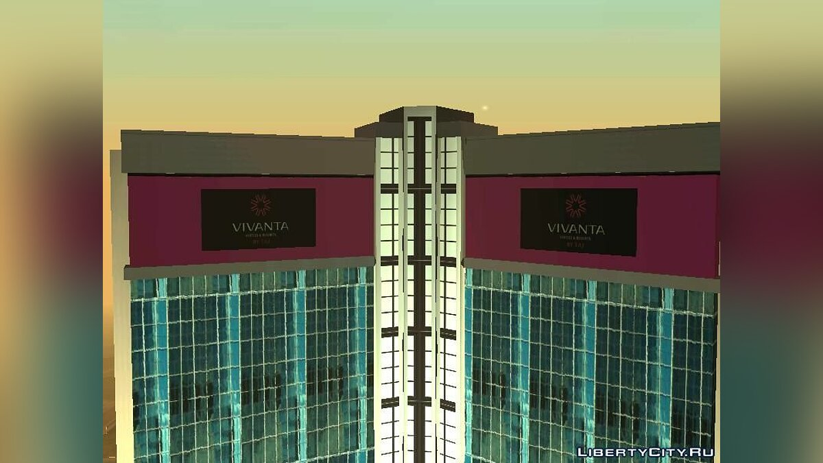 New object Vivanta Taj Hotel for GTA San Andreas