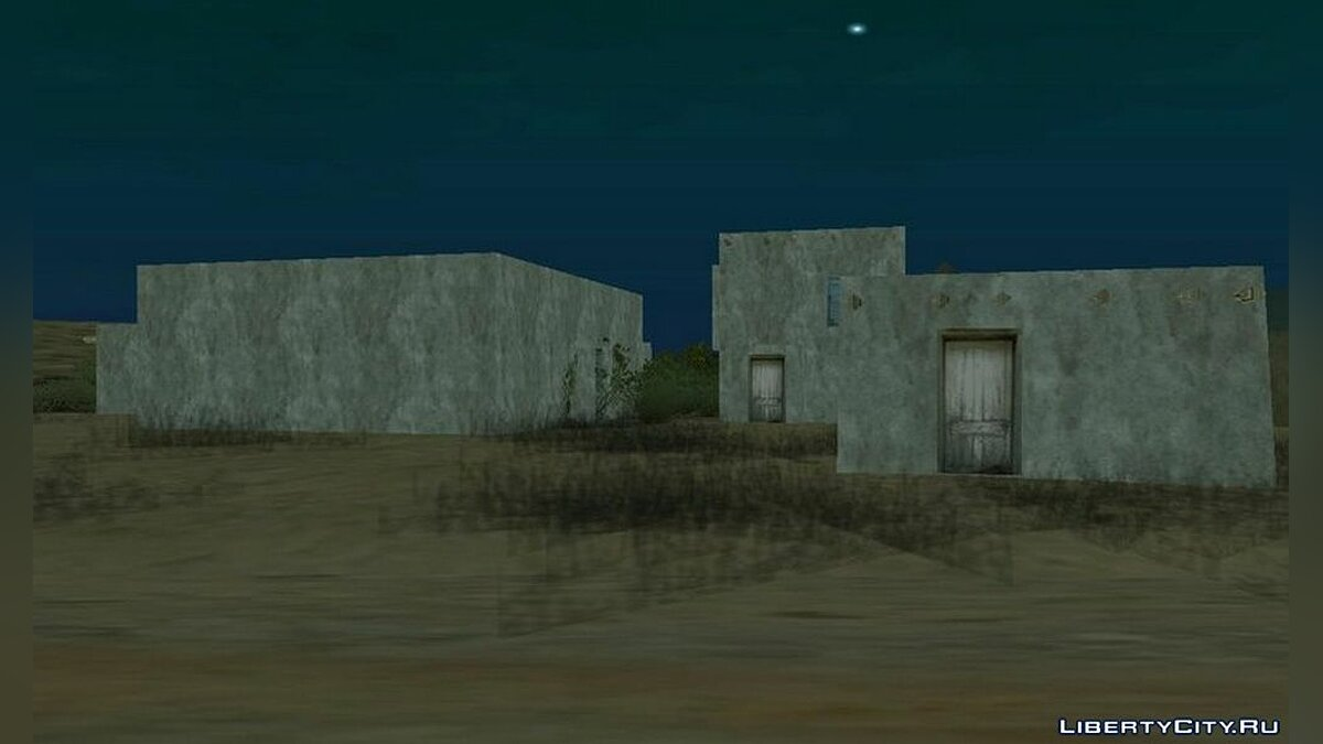 New object Expansion of the ghost village for GTA San Andreas