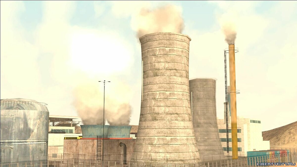 New object Smoke in factory pipes for GTA San Andreas
