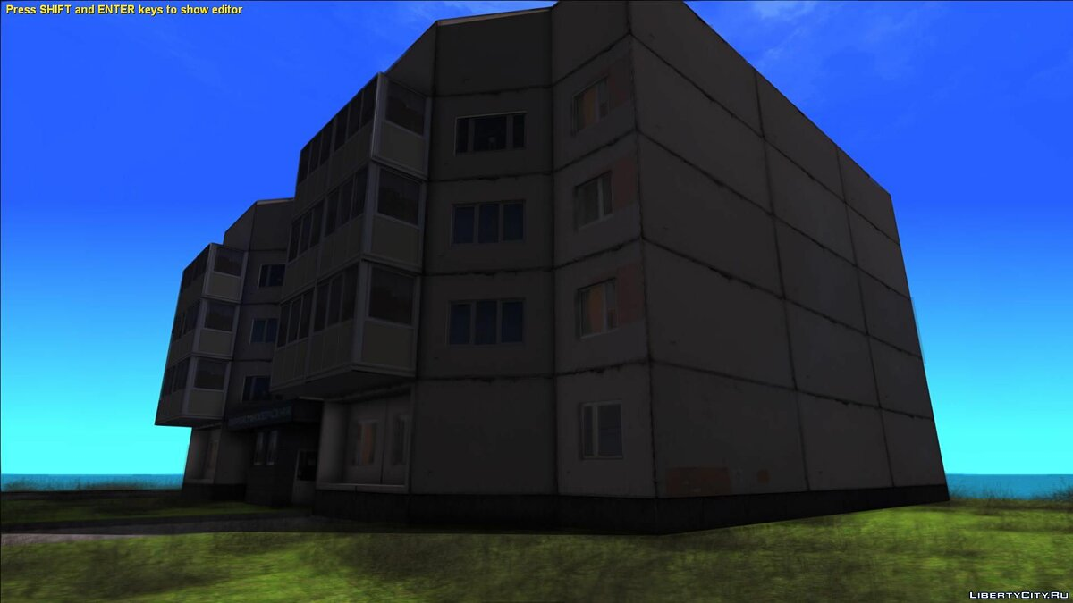 New object Four-storey building for GTA San Andreas