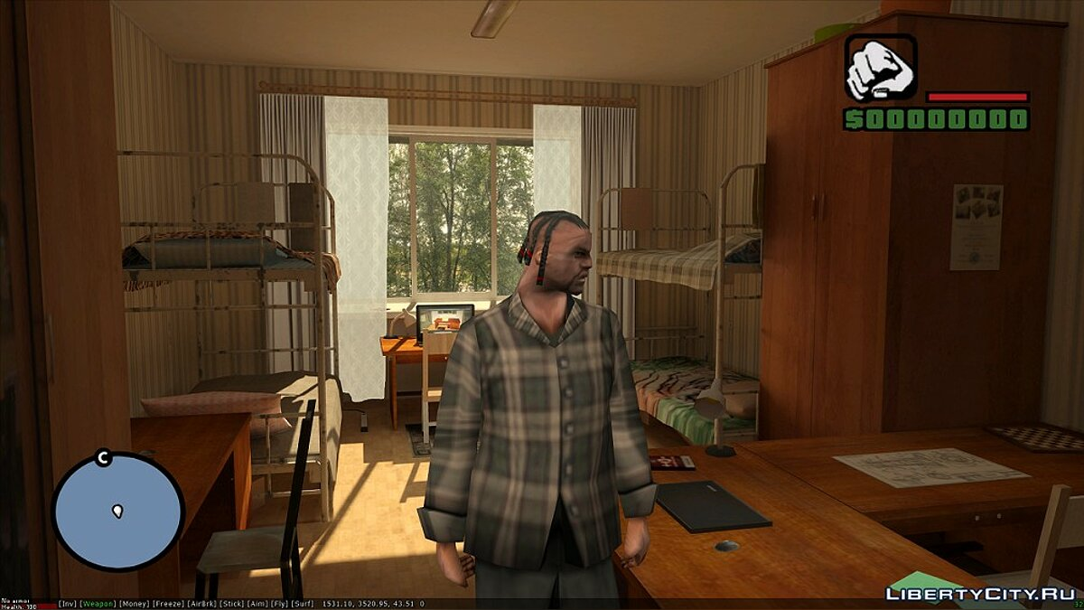 Dorm interior for GTA San Andreas - Картинка #3