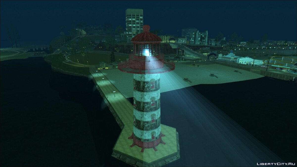 New object HQ Enterable Lighthouse for GTA San Andreas