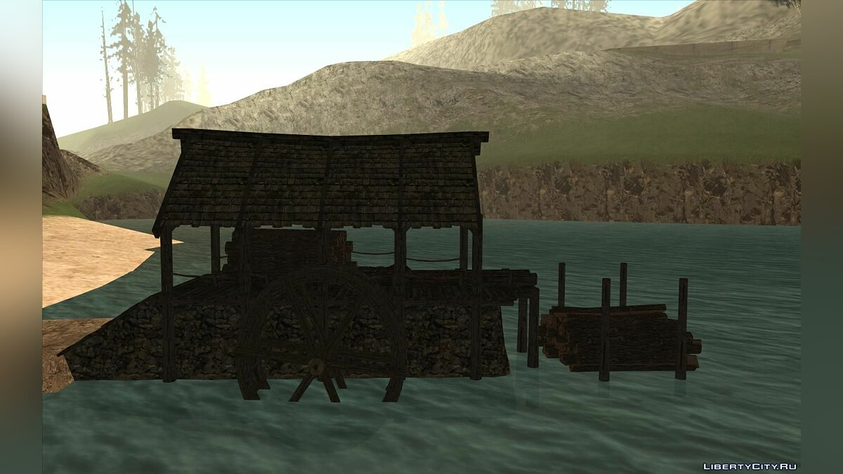 New object Sawmill from Skyrim for GTA San Andreas