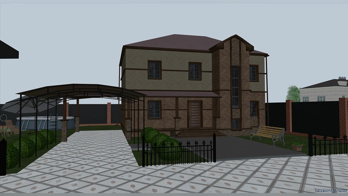 New object A private house for GTA San Andreas