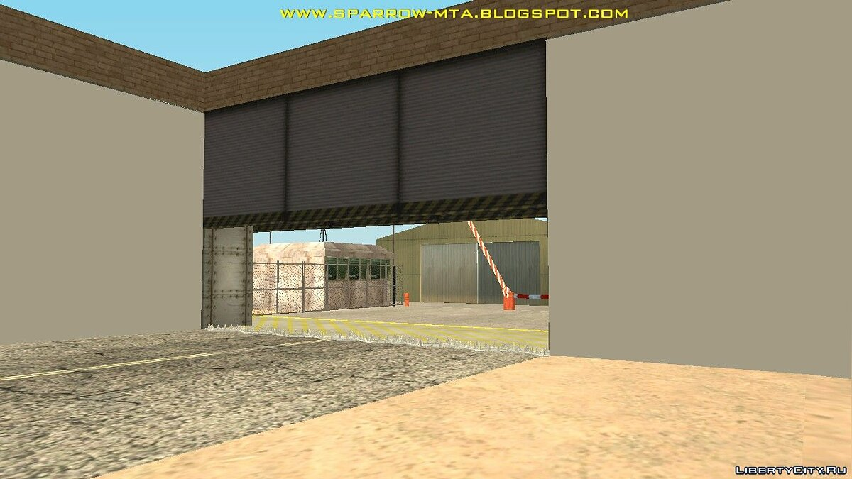 New object Military town in zone 51 for GTA San Andreas
