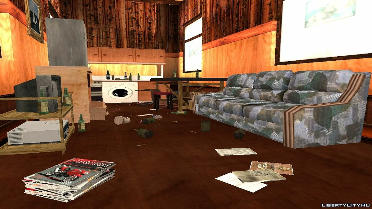 New object The bachelor's lair for GTA San Andreas
