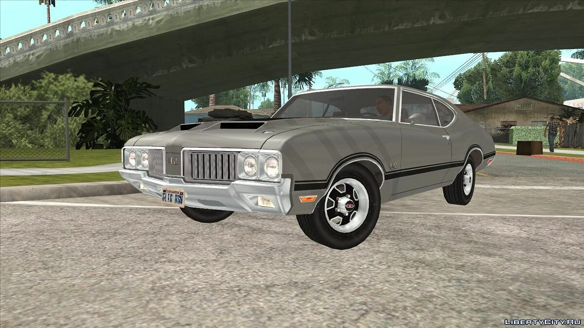 Oldsmobile car Oldsmobile 442 Cutlass 1970 for GTA San Andreas