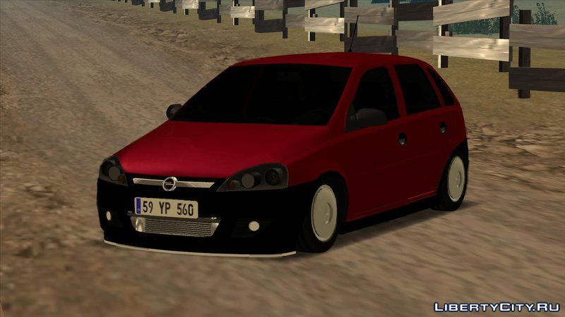 opel corsa 1 7 dti kfk performance for gta san andreas. Black Bedroom Furniture Sets. Home Design Ideas