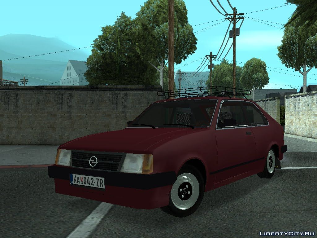 Opel Kadett D For Gta San Andreas