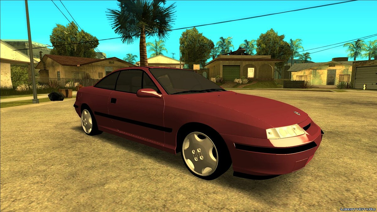Opel car Opel Calibra Geesdorf Garage for GTA San Andreas