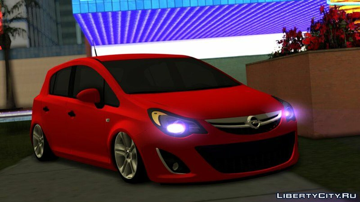 Opel car Opel Corsa D 2011 for GTA San Andreas