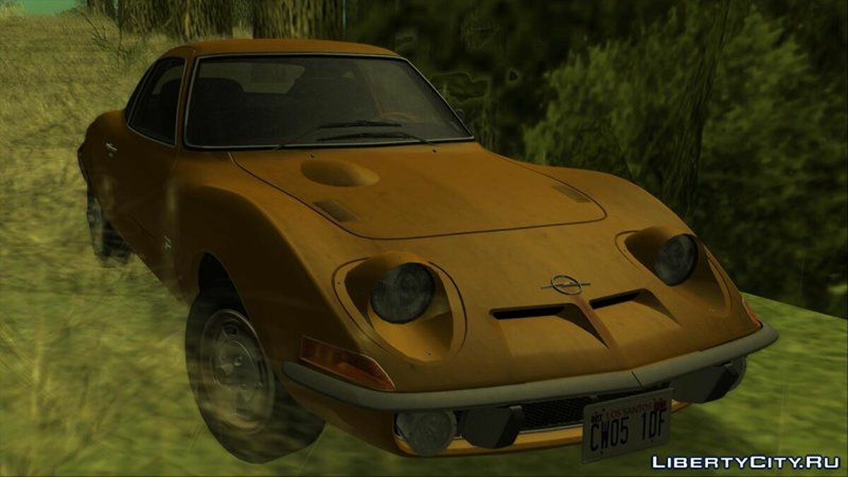 Opel GT 1900 1968 (US-Spec) for GTA San Andreas