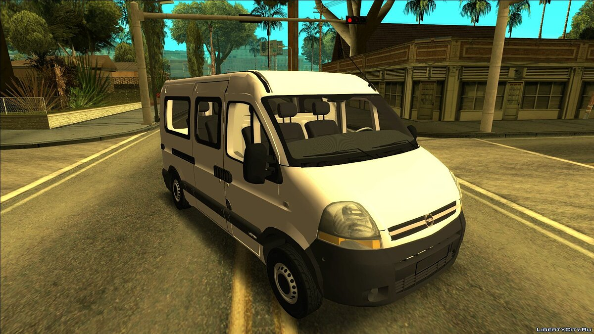 Opel car Opel movano for GTA San Andreas