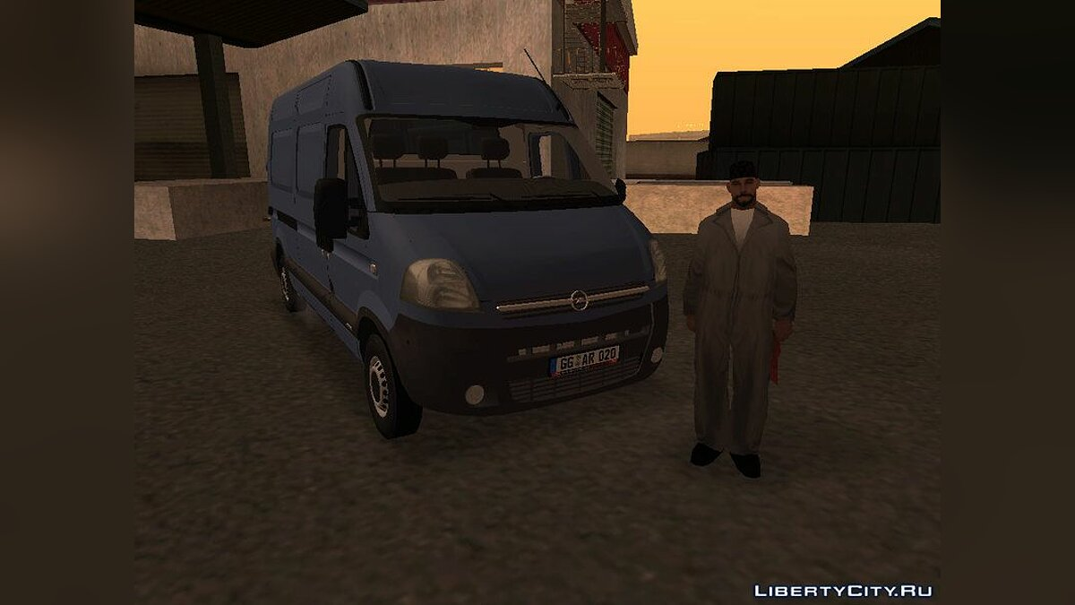 Opel movano for GTA San Andreas